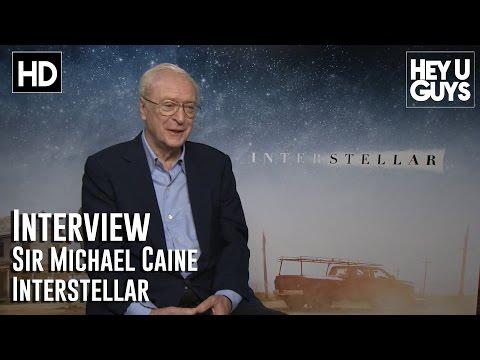 Michael Caine Interview - Interstellar