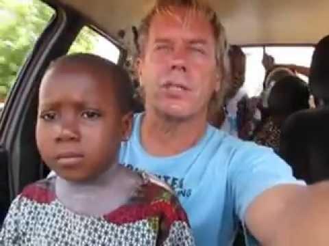 Togo - Benin Children in Car with Andy Graham of HoboTraveler.com