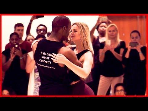 Marc Brewer & Emma Kat Housner - Zouk Dance Demonstration - Interfusion Festiva Summer 2017