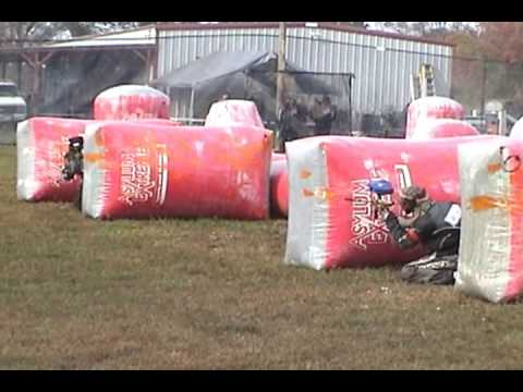 Snake Kill CTS XBall PSP Aslyum Paintball Tournament Video