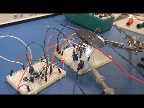Tutorial: 555 Timer, PWM LED Driver and Latched Switch - Pt1 Music Videos