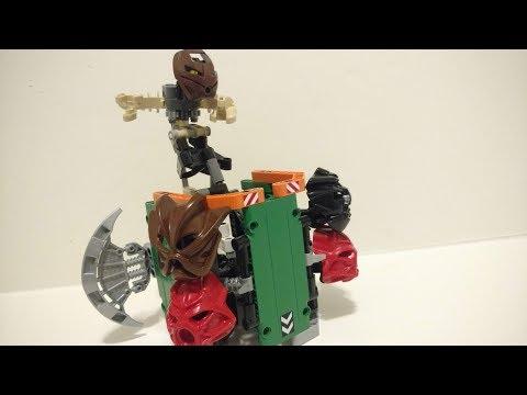 Lego Bionicle MOC review: Worlds first running Matoran, Mahki
