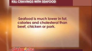 Mermaid Tip: Kill Cravings With Seafood