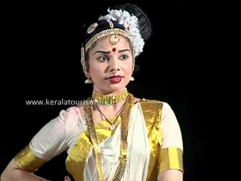 Mohiniyattam, Indian Classical Dance, Kerala Kalamandalam, Thrissur video