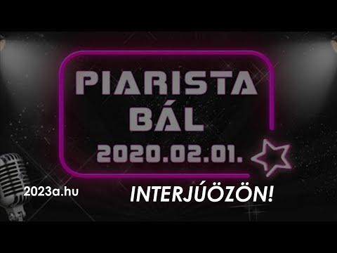 A 10. Jubileumi Piarista Bál - interjúk, összefoglaló    2023a.hu