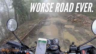 WORSE ROAD EVER? - Royal Enfield Himalayan (2018) - Biking Nagaland - [ROUND 14]