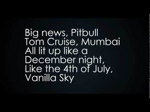 Pitbull ft. Shakira - Get It Started Lyrics (Video with Lyrics / Letra)