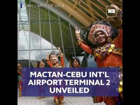Mactan-Cebu Int'l Airport Terminal 2 unveiled