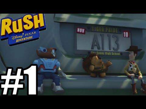 Rush A Disney-Pixar Adventure Gameplay Walkthrough Part 1 - Toy Story