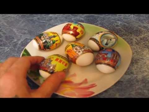 Яйца на Пасху без покраски