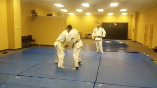 Sparring in Judo Class Part 2