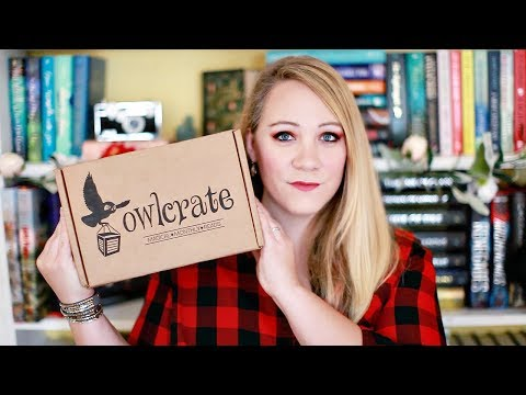 FEBRUARY OWLCRATE UNBOXING [WHIMISAL BEASTS]