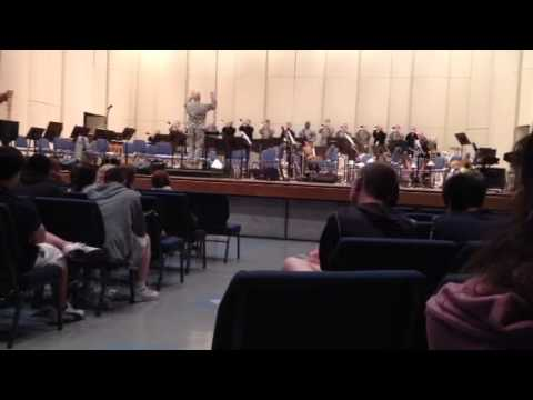 Buglers Dream and Olympic Fanfare played by the U S Army Herald Trumpets