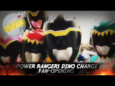 Power Rangers Dino Charge Fan-Opening