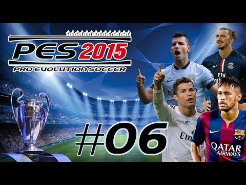 #06 PES 2015 My Club - UEFA Champions League CUP - PS4