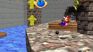 Mario 64 nivel 11 estrellas 1, 2 y 3