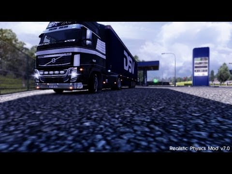 Euro Truck Simulator 2   Realistic Physics Mod v7.0   1.4.1+ 1.5.2+ 1.6.0+ 1.7.0+