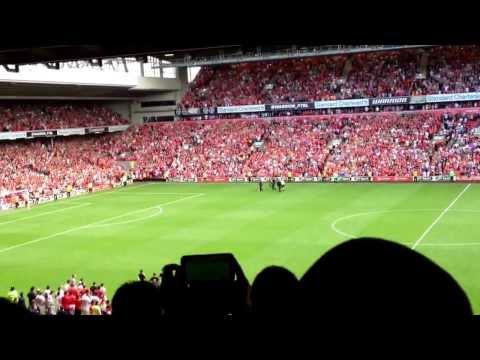Steven Gerrard Lap of Honour. Liverpool vs Olympiakos 2-0. Steven Gerrard Testimonial.
