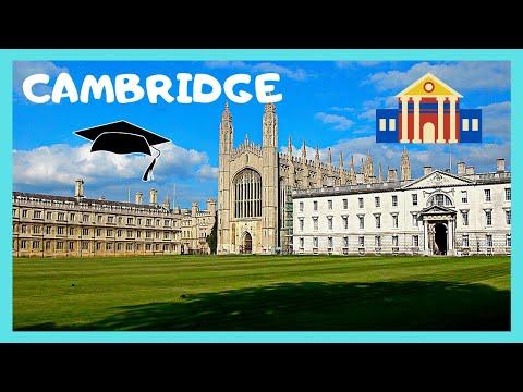 A walking tour of historic Cambridge (England)