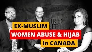 Ex-Muslim Saudi Arabian Sandra Solomon Physically Abused - Islam Sharia Law for Hijab Warns Canada