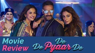 De De Pyaar De Movie Review | Ajay Devgn | Rakul Preet | Tabu
