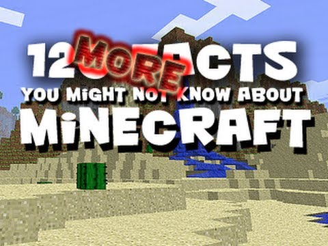 120 MORE Facts You Might Not Know About Minecraft