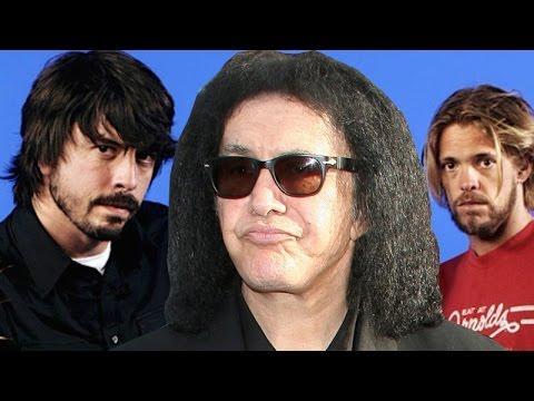 """Gene Simmons """"Rock Is Dead,"""" Foo Fighters & Piracy"""