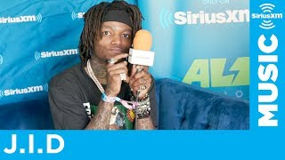 J.I.D on 'Revenge Of The Dreamers 3' & Performing at Big Festivals | Lollapalooza 2019