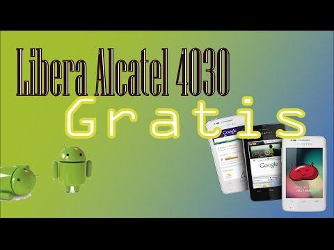 Como Liberar alcatel 4030-5020-4010 GRATIS