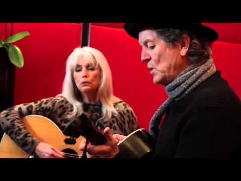 "Emmylou Harris & Rodney Crowell  Rolling Stone Session - ""Dreaming My Dreams"""