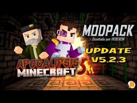 ACTUALIZACIÓN Modpack Apocalipsis Minecraft 5   Serie Oficial   @HeberonYT
