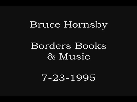 Bruce Hornsby - Long Tall Cool One