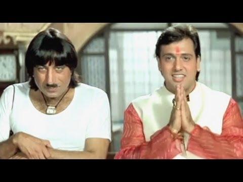 Govinda Karishma Kapoor Shakti Kapoor Raja Babu - Comedy Scene...
