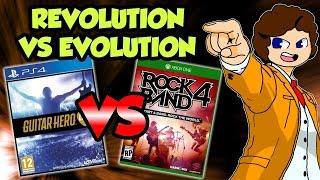 Guitar Hero Live VS Rock Band 4 - valeforXD