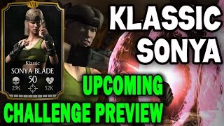 Klassic Sonya Blade Challenge (MKX Mobile). Who you need for last towers and BOSS BATTLE.