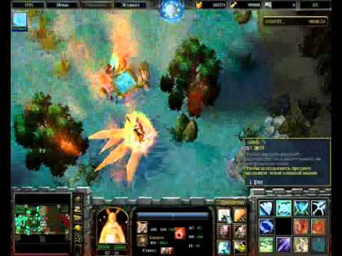 Warcraft 3.   Map- Naruto Wars EX   (part 4).wmv
