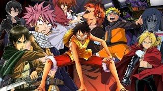 TOP 10 Los Mejores Animes Del Mundo