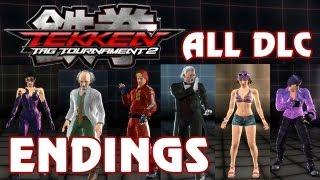 Tekken Tag Tournament 2 - 'All DLC Character Endings' TRUE-HD QUALITY