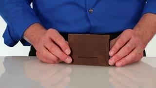 VIA Leather Billfold Wallet - by WaterField Designs