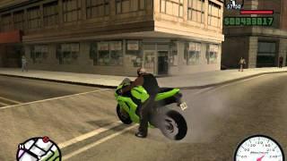 Gta San Andreas:Kawasaki Ninja