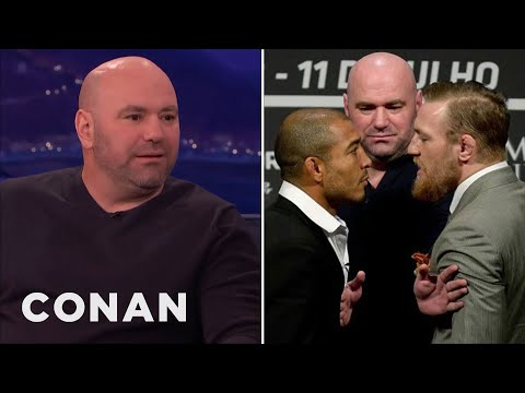 Dana White's Most Notable Pre-Fight Scuffles  - CONAN on TBS