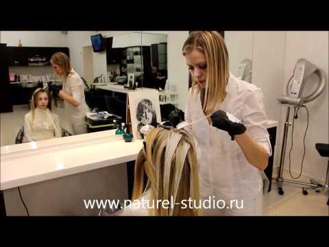 Видеоурок брондирование волос - видео