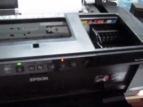 Epson R1900 R2000 ink level reset - reset all 8 channels at the same time with a decoder