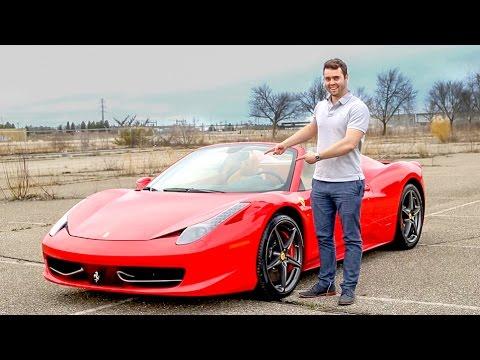 Ferrari 458 Spider Review - The BEST CAR I've Ever Driven!