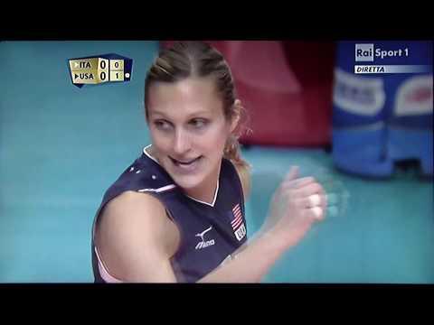 ITALIA vs U.S.A. Mondiali Volley Femminile 2014