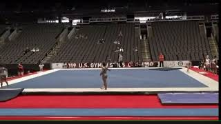 Simone Biles NEW Floor Routine US Champs 2019