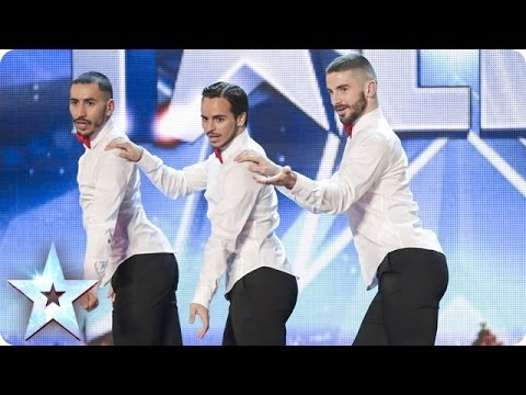 Yanis Marshall, Arnaud And Mehdi In Their High Heels Spice Up The Stage | Britain's Got Talent 2014 video