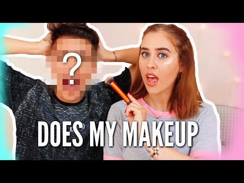 CLEO TOMS DOES MY MAKEUP