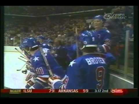 US wins Olympic Ice Hockey Gold Medal 1980