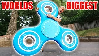 WORLDS BIGGEST FIDGET SPINNER!!